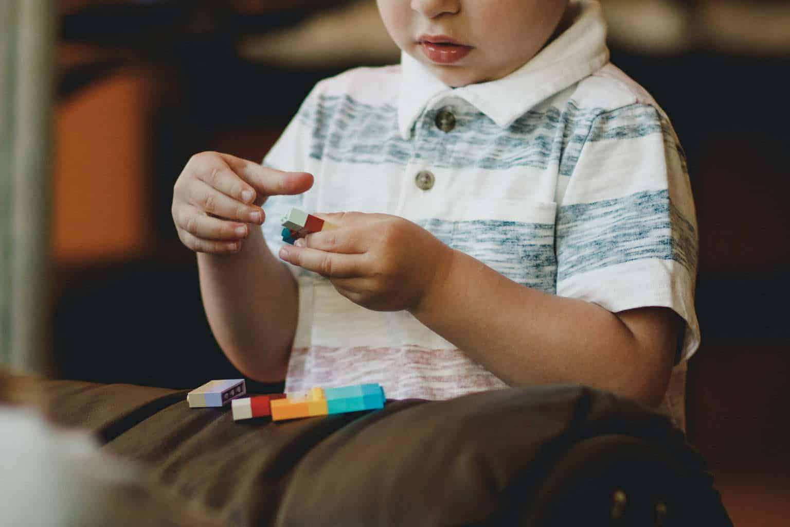 We can learn a lot about what children enjoy by watching them play independently.