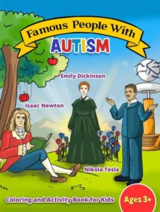 Famous People with Autism Coloring Book