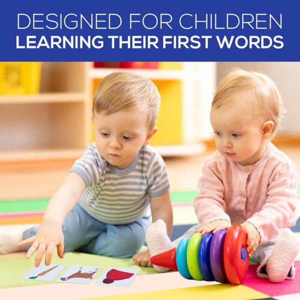 First Nouns ABA Flashcards Children Playing