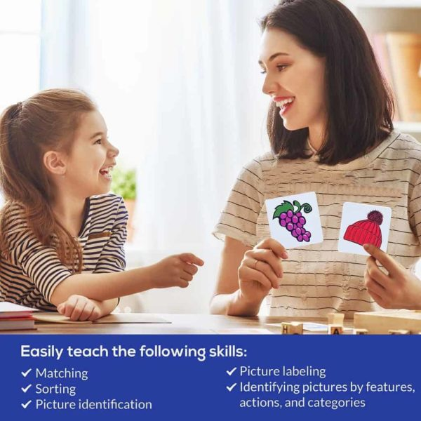 First Nouns ABA Flashcards Parent Teaching
