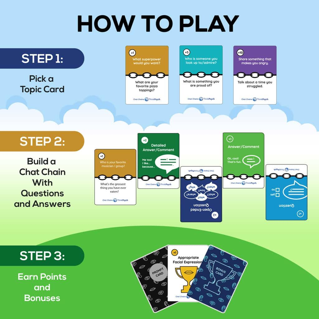 Chat Chains Rules How to Play
