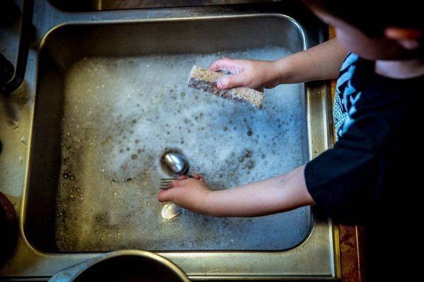 Washing Dishes Task Analysis